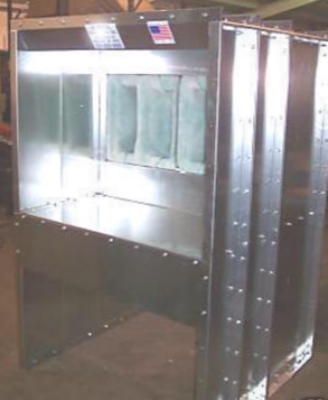 Bench Powder Spray Booth