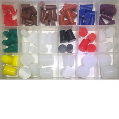Taper Silicone plug Sample Starter Kit