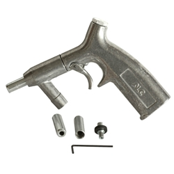 Gun and Nozzles For Siphon Blasters, Blast Cabinet, Siphon Gun For Blast Cabinet