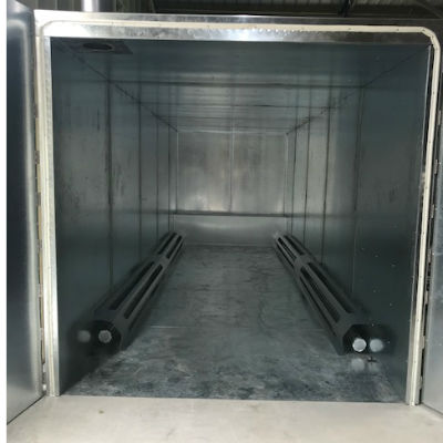 Pro-Heat Gas Fired Ovens, PHO888, 8' x 8' x 8' Powder Coat Oven, powder Coating, Industrial Oven, Commercial Furnace, Coatings