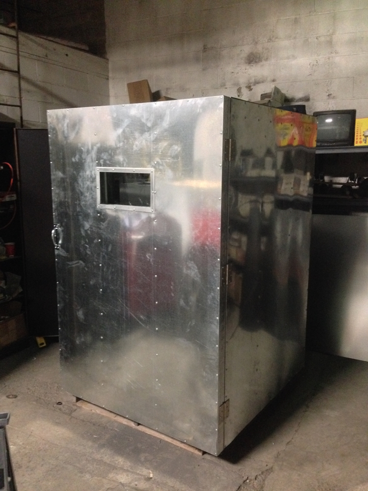 4' x 4' x 6'' Electric Powder Coat Oven
