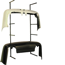 Bumper Storage Rack, Autobody, Automotive Repair, Autobody, Auto Body, Collision Center, Collision Repair