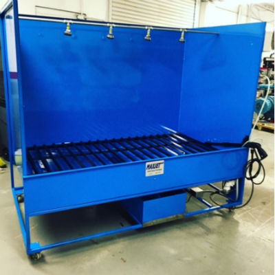 Large parts Washer And Rinse Station