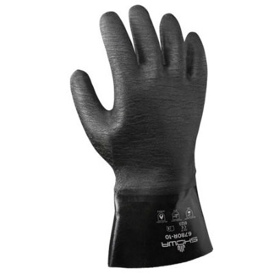 Chemical Gloves, SHOWA 6780R-10, Powder Coat, Powder Coat Stripper, Paint Stripper