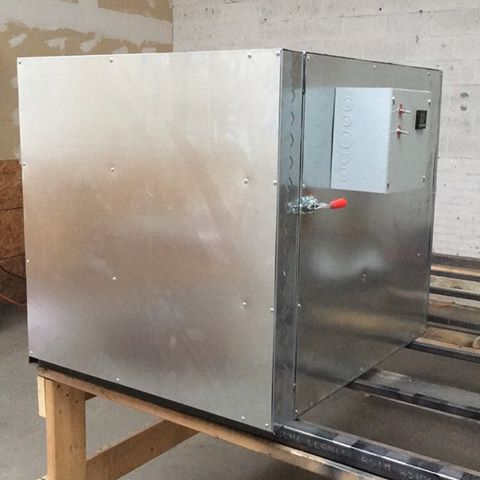 4 x 4 x 4 Electric Powder Coat Oven