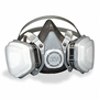 3M Half Mask Respirator (Large) for Painting and Powder Coating