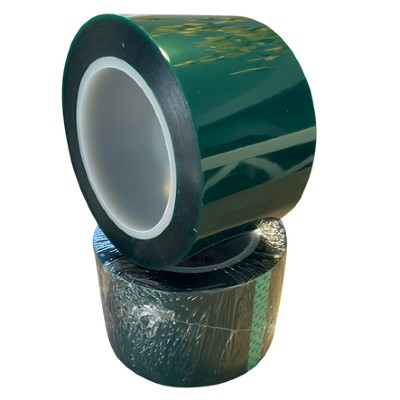 "3""  High Temp Green Poly Tape"