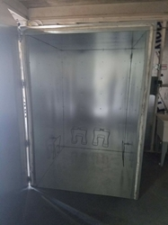 5 x 5 x 6 Electric Powder Coat Oven