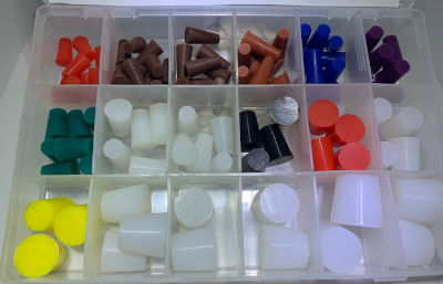 Silicone Tapered Stoppers Starter Kit (STS-2)